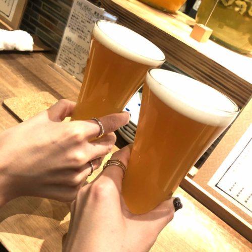onikaiでクラフトビール ♪